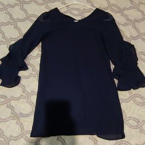 Amy Byer Girls Navy Dress Sz 10